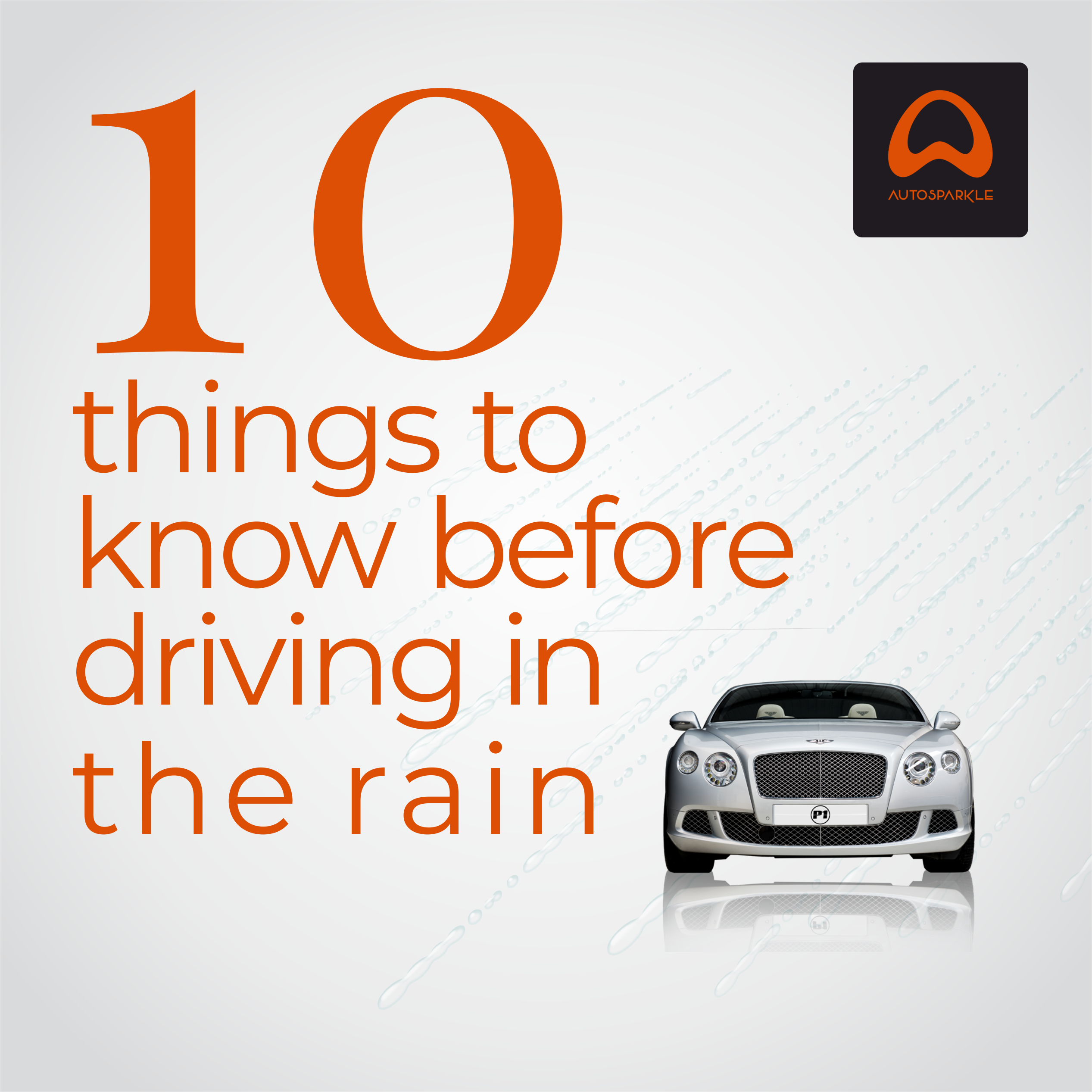 10 things to know when driving in the rain