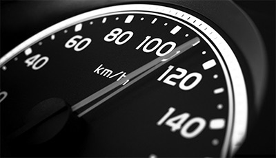 Speeding while driving