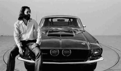 Jim Morris and 1967 shelby gt 500